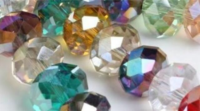 8x10mm Wholesale New Multicolor Crystal Loose Beads3x4mm 4x6mm //6x8mm