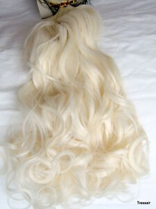 24-034-inch-Clip-in-Hair-Extensions-Curly-Wavy-White-Blonde-60M-Womens-One-Piece