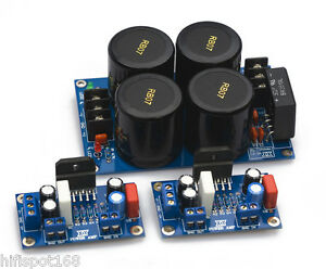 LM3886-Amp-Board-rectify-filter-LM3886TF-assembled-finished-boards