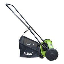 ALEKO Hand Push Lawn 16 Inches Mower Adjustable Cutting Height 5-Blade