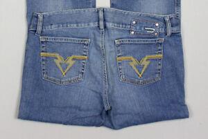 Vintage Diesel Women Flared Jeans Size W30 L36