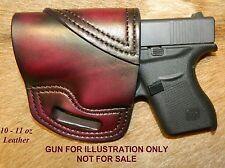 Gary Cs Leather Avenger Owb Left Hand Holster Fits The Glock 43 9mm