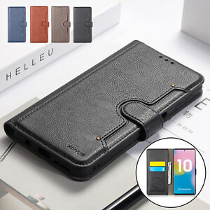 For-Samsung-Galaxy-Note-10-Plus-Case-Magnetic-Book-Leather-Stand-Wallet-Cover