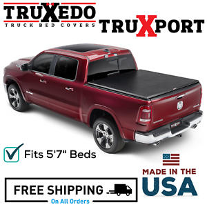 Truxedo Truxport Roll Up Tonneau Cover Fits 2019 2020 Dodge Ram 1500 5 7 Bed Ebay