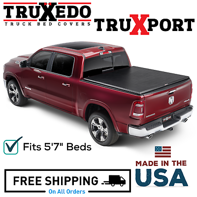 Truxedo Truxport Roll Up Tonneau Cover Fits 2019 2020 Dodge Ram 1500 5 7 Bed Ebay