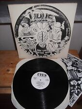 "U.Y.U.S. ‎""Use Your Unedited Sense"" LP UYUS USA 1990 - INSERT"