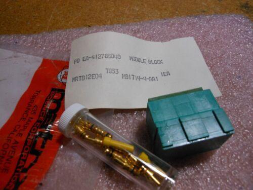 5905-00-525-8632 MATRIX MRTB12E04  MODULE BLOCK PART # M81714//4-AA1  NSN