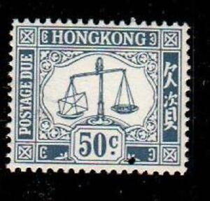 Hong Kong Scott J12 Mint NH (Catalog Value $82.00)