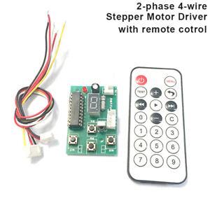 3-24V 5v Adjustable Speed Stepper motorDriver Controller Board +Remote Control