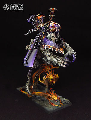 Vampire Counts Neferata - Mortarch of Blood - painted (commission)