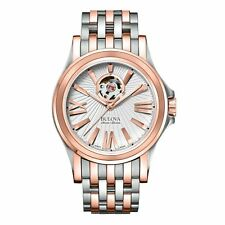 Bulova 65A105 Men's Kirkwood Sellita  Silver Automatic Watch