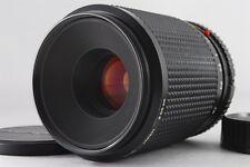[NEAR MINT] MINOLTA MD MACRO 100mm F/4 Macro Lens w/ F&R Cap from Japan #138