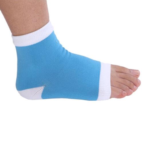 1Pair Women Men Fashion Socks Gels Heel Socks Treatments Smooth Foot Care LS