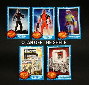 2015 SDCC EXCLUSIVE Gentle Giant Promo Card G.I Joe 2 pack Micro Figures card