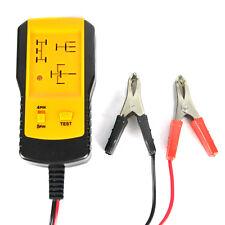 12V Universal Auto Batterie-Ladegerät Vehicle Relay Batterietester Diagnostische