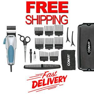 18 piece professional shaver kit razor beard hair clipper trimmer grooming set ebay. Black Bedroom Furniture Sets. Home Design Ideas