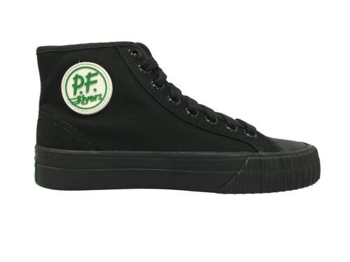 PF FLYERS Center High  Canvas Mens Lifestyle Shoe Black//Black MC2001SL Unisex