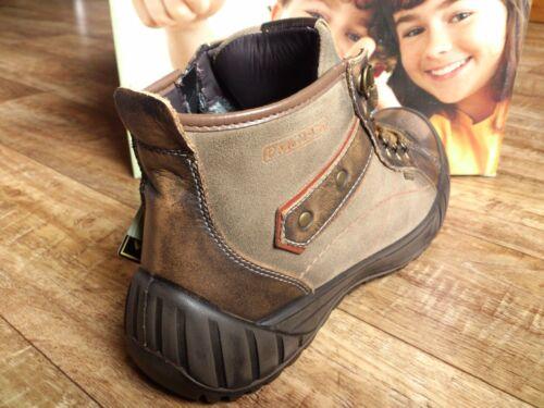 Primigi Rob Gore-Tex Jungen Schuhe Sneaker Boots Leder Braun NEU
