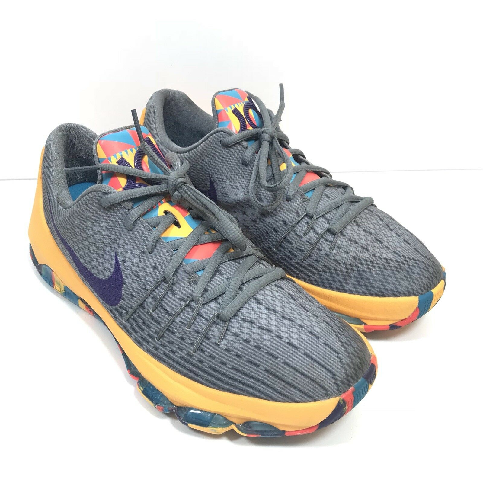 huge discount 8d807 9453e Nike KD 8 GS Kids Youth Boys Girls Basketball Shoes Durant 768867-050 6 Y