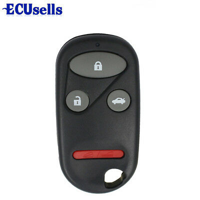 4 Button Replacement Fob Remote Key Case for HONDA CRV S2000 3+1 Buttons