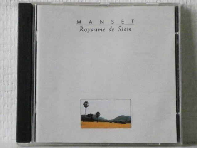 GÉRARD MANSET : ROYAUME DE SIAM   - - - RARE - - -