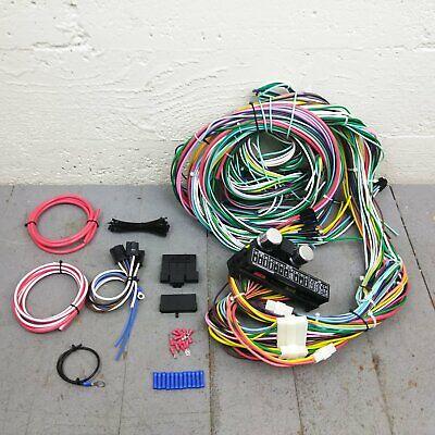 1980-86 ford f100 f150 truck complete under dash main wiring harness & fuse  box | ebay  ebay