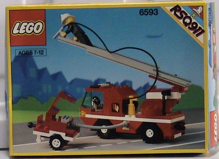 NYA Lego Classic Town 6593 Blaze slåssr förseglad - FIRE