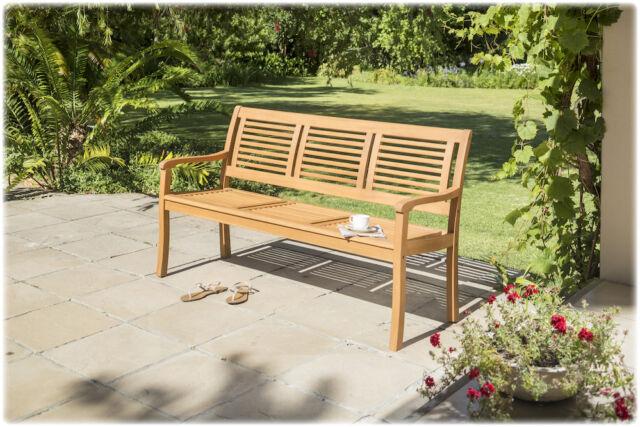 3-sitzer Gartenbank Paolo Teakoptik | eBay