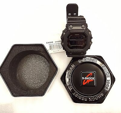 Casio G-Shock Black-Out Solar Multi Function Mens Tactical Wristwatch GX56BB-1CR