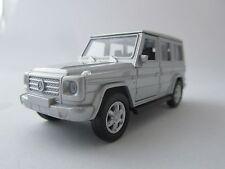 Welly Mercedes-Benz G-Class / Silber/ Druckgussmodel/Rückzugmotor/1:39/OVP/Neu