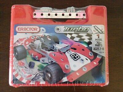 165 Parts Erector Tuning Race Car