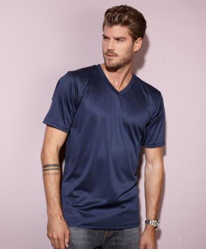 JN736 James /& Nicholson Herren V-Neck Sport T-Shirt