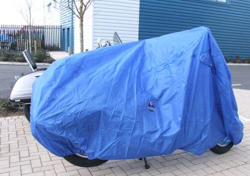 190T Terylene Waterproof Cloth Motorbike cover For Cruiser Sport Bikes 4053