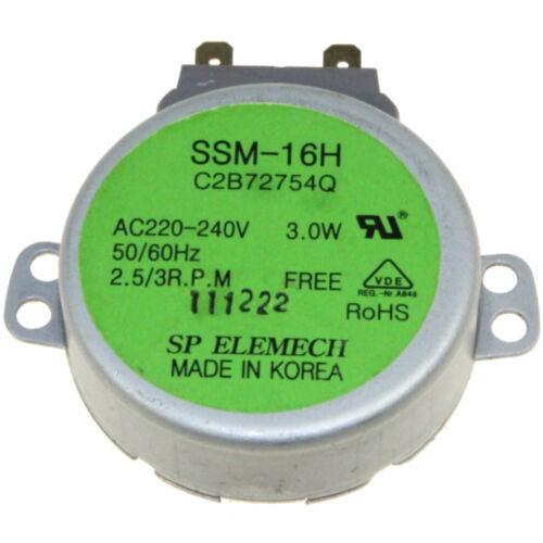 2B72754Q SSM-16H Motore Microonde LG 220//240V 35mA 2B72754Q 3RPM MDFJ030AF