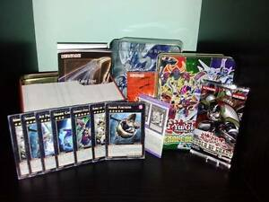 250 yugioh karten mit 25 holos rares xyz exceeds 1 tin. Black Bedroom Furniture Sets. Home Design Ideas