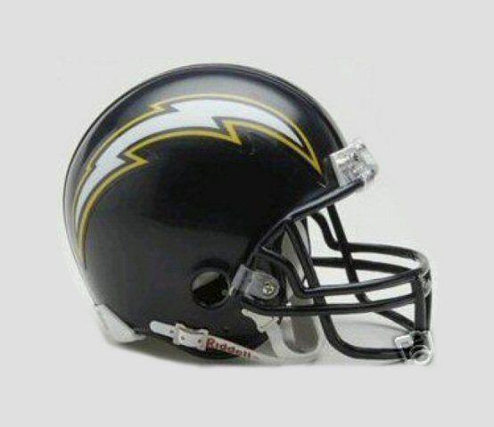 San Diego Chargers Riddell NFL Mini Helmet 1988-2006