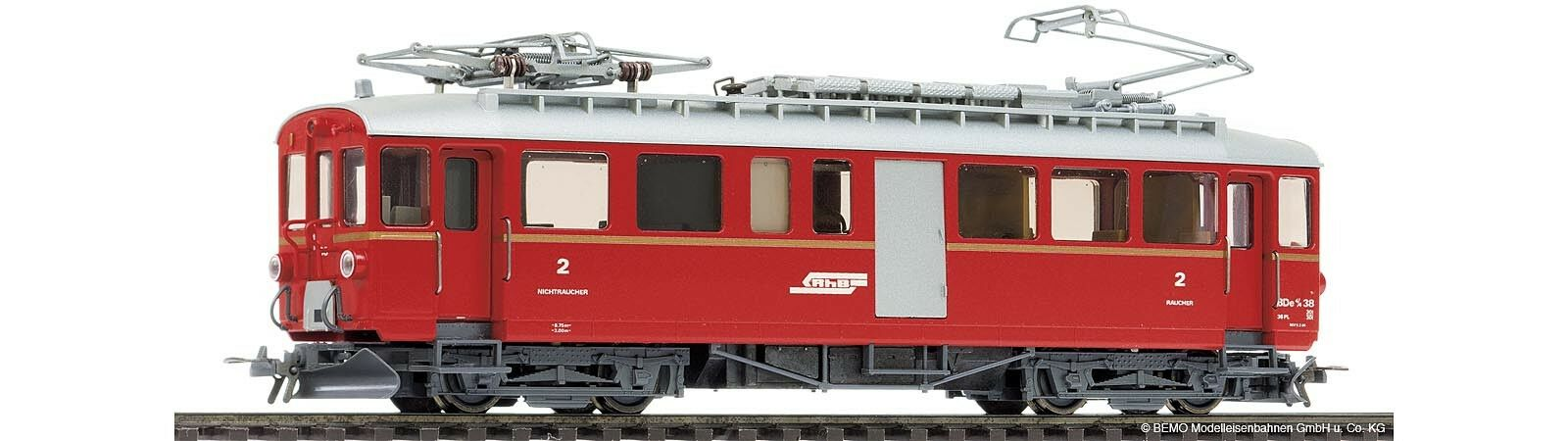 BEMO h0m 1268 148 RHB abde 4 4 38 berninatriebwagen Digital SS merce nuova uvp305 -