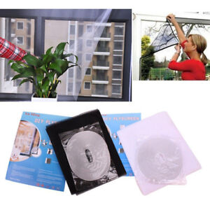 Flyscreen-Insect-Bug-Anti-Mosquito-Fly-Door-Window-Curtain-Net-Mesh-Screen