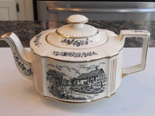 Vintage Sadler Riverside Teapot, Traditional Oval,  FREE SHIPPING
