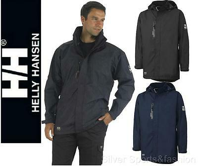 Helly Hansen Mens Haag Hooded Parka Jacket Sz L XL 2XL Waterproof Coat workwear
