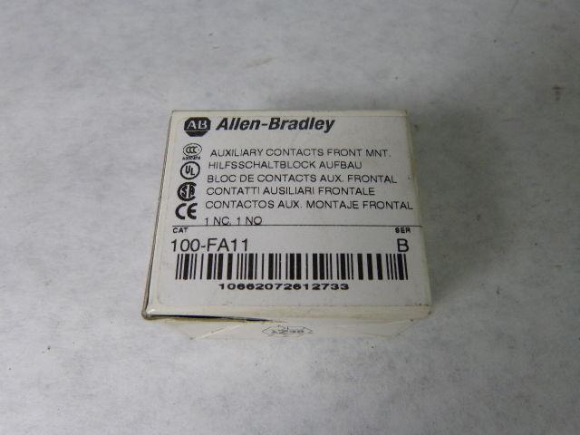 Allen-Bradley 100-FA11 Auxiliary Contact Block 1NO 1NC ! NEW !