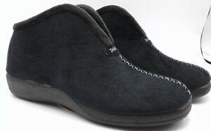 Slippers - Ladies - DeValverde 9709/9109 Negro (Black)
