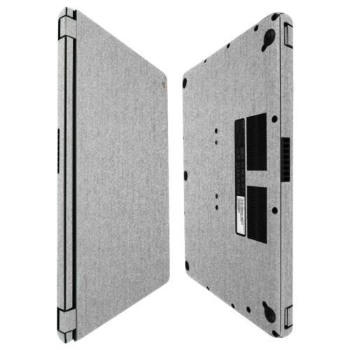 Skinomi Brushed Aluminum Skin+Screen Protector For Acer Chromebook 15 2016