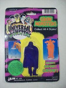 VINTAGE-UNIVERSAL-MONSTERS-GROW-MONSTERS-DRACULA-FIGURE-JA-RU-1991-GROW-TO-12-034