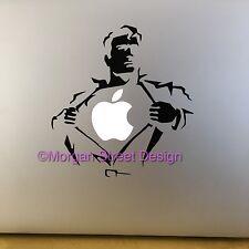 "Super Hero Vinyl Decal Sticker Skin for Apple MacBook Pro Air Mac 11/13/15"""
