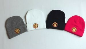 New-Supreme-Plain-Manchester-United-FC-Football-Official-Soccer-Beanie-Hat-cap-1
