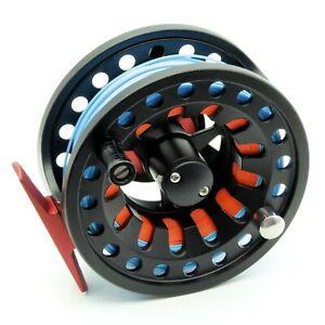 BR in alluminio metallo Fly Fishing Reel Combo Kit, tra cui PRE MONTATO FLY LINE