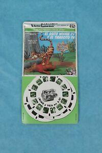 VINTAGE VIEW-MASTER 3D REEL PACKET B369-S WINNIE THE POOH  IN SPANISH SEALED