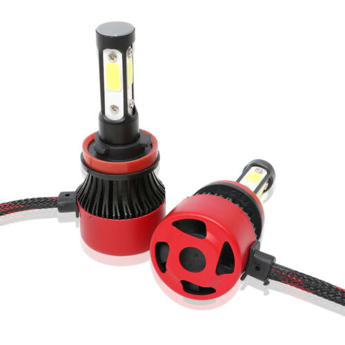 H4 H7 H11 9005 9006 4 SIDE LED Headlight Bulb High Low Beam Foglight 72W 6000K