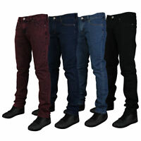 Mens Skinny Fit Stretch Denim Jeans Kam New look slim Fit Jeans All waist sizes